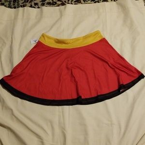 Mickey Mouse Running Skirt- Large Run NWT